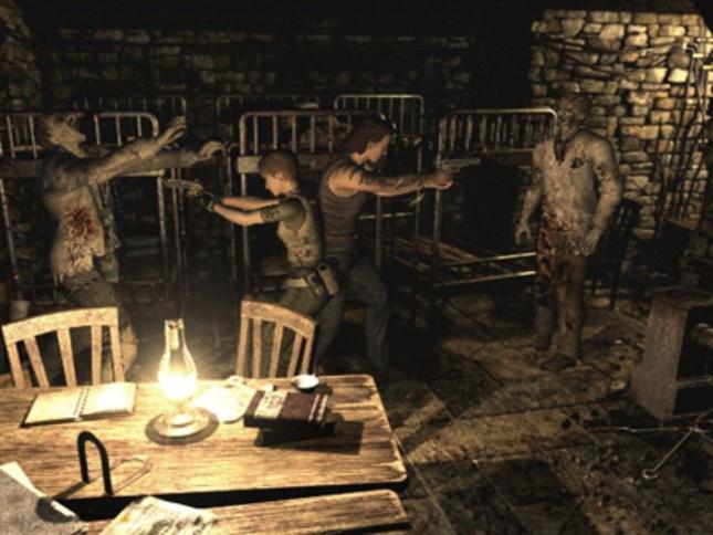 Resident Evil 0 Dual Zombie Fighting. Zero Degrees of Separation Gameplay Screenshot