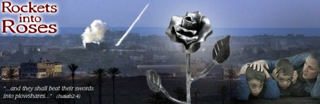 Rockets Into Roses Israeli Art From Terrorist Rockets