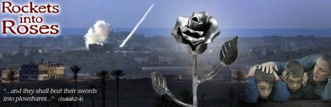 Rockets Into Roses Israeli Art From Terrorist Rockets