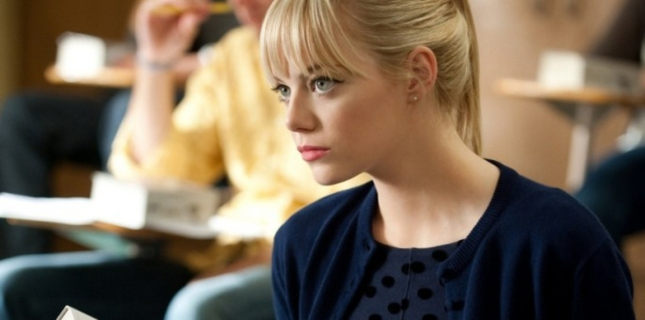 Emma Stone Is Gorgeous Spider-Man Scene