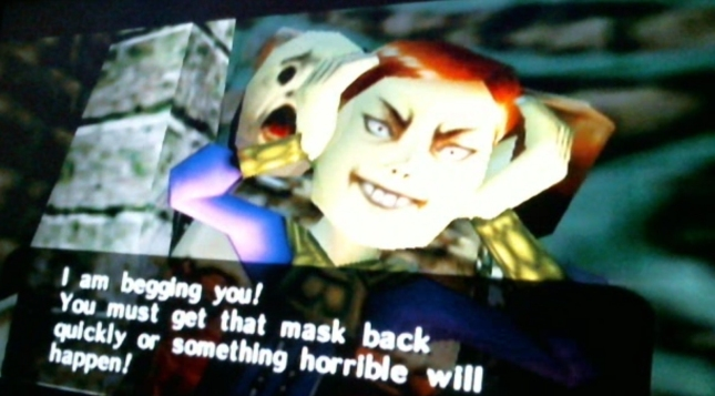 Evil Happy Mask Salesman Zelda Majoras Mask Screenshot