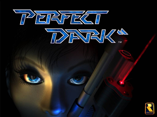 Perfect Dark Eyes of Joanna Wallpaper