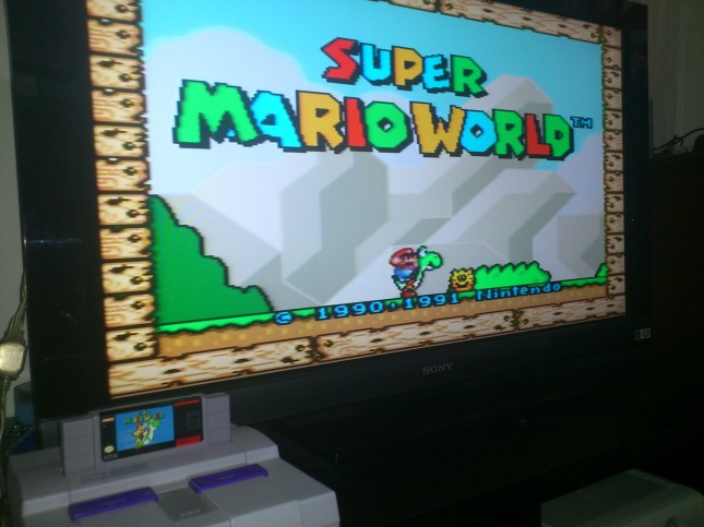 SNES On HDTV