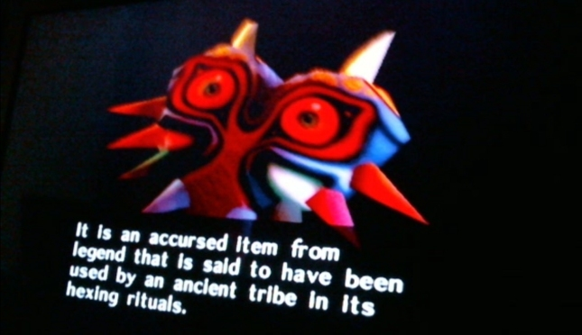 The Evil Majora's Mask Hexing Tribe Rituals Screenshot