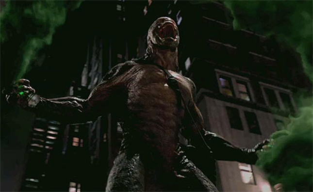 The Lizard Roars Growls Amazing Spider-Man Movie Screenshot