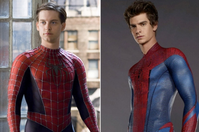 Tobey McGuire vs Andrew Garfield Spider-Man Without Mask Comparison