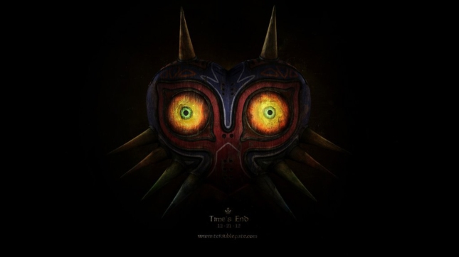 Zelda: Majora's Mask 3DS Terrible Fate Wallpaper
