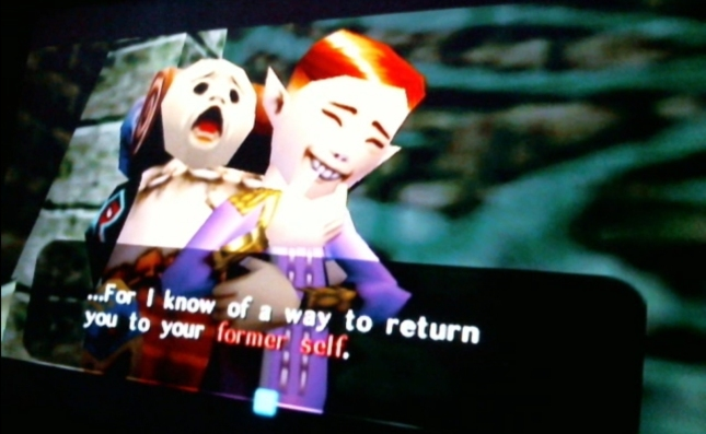 Zelda: Majora's Mask Happy Mask Shop Owner Knows How To Return You To Human Link Screenshot
