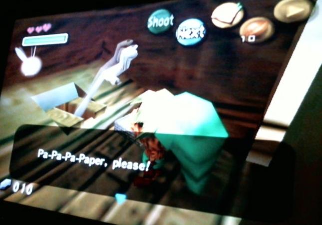 Zelda Majoras Mask Man In A Toilet... Paper Please!