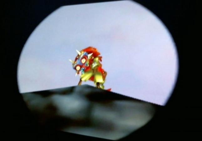 Skull Kid Feeling His Ass... Zelda: Majora's Mask Screenshot Mooning You