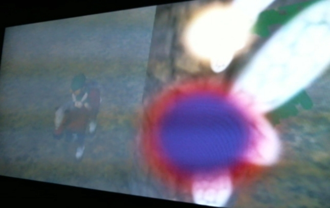 Zelda Majoras Mask Tatl And Tael Fairies Stalk Link on Epona Screenshot