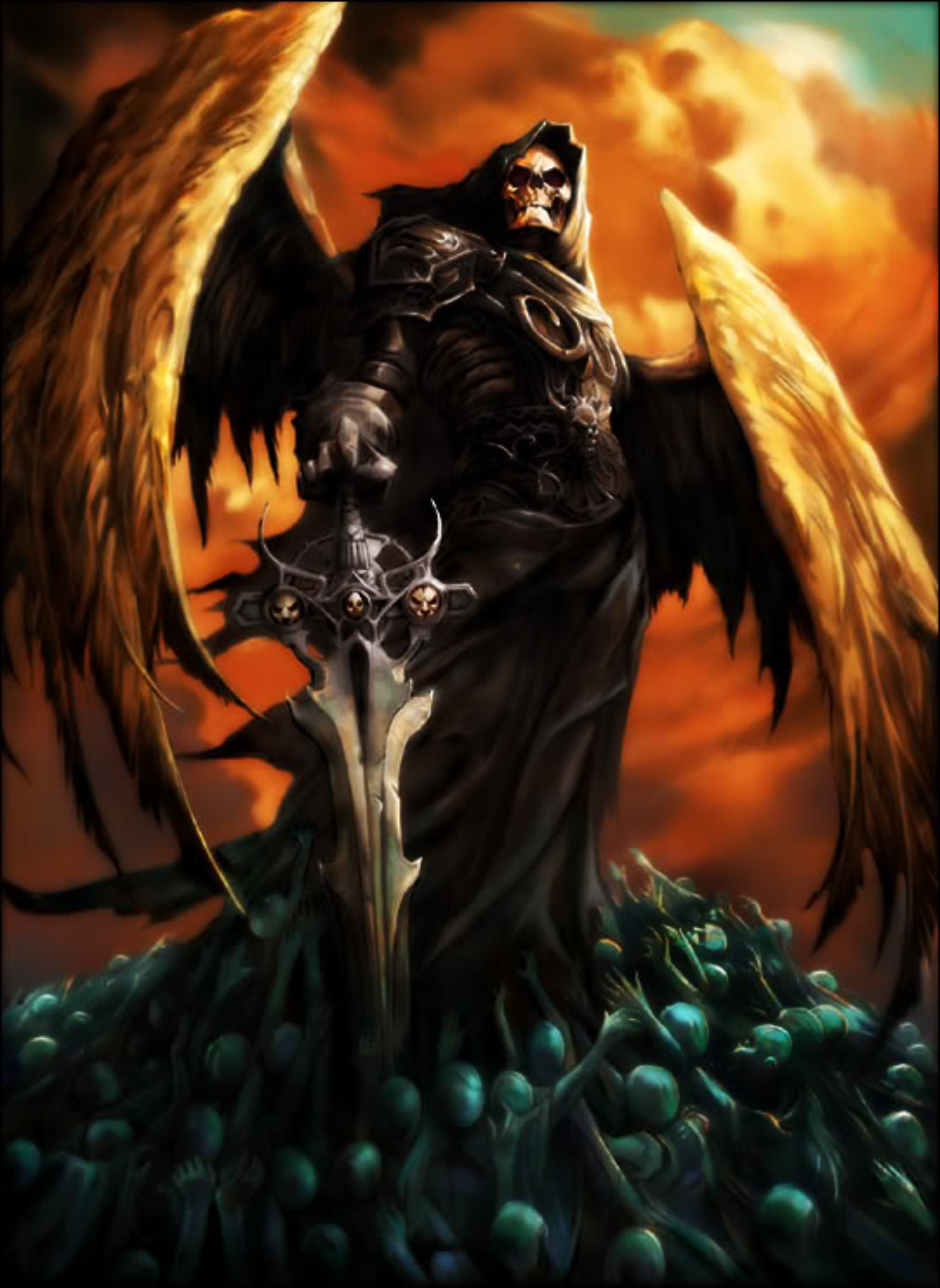 Photo Of The Day Angel Of Death Wallpaper Is Badass Watch Us