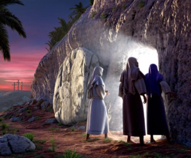 Disciples Empty Tomb Wallpaper Artwork