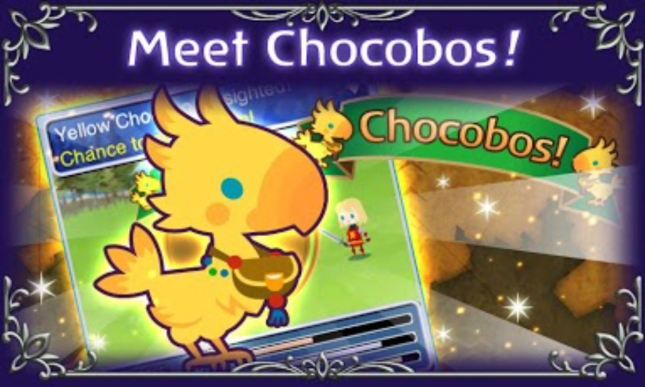 Final Fantasy: Airborne Brigade Chocobos Screenshot Artwork