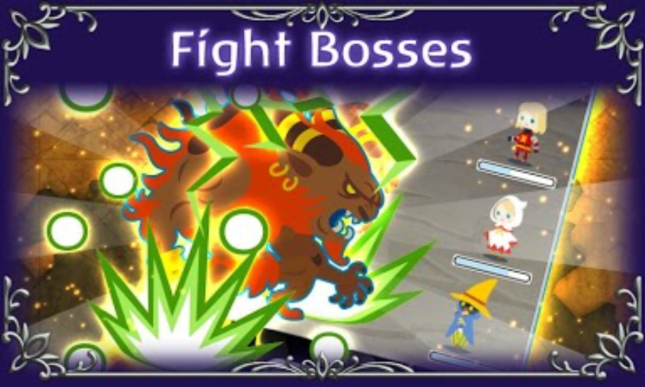Final Fantasy: Airborne Brigade Ifrit Boss Summon Screenshot Artwork