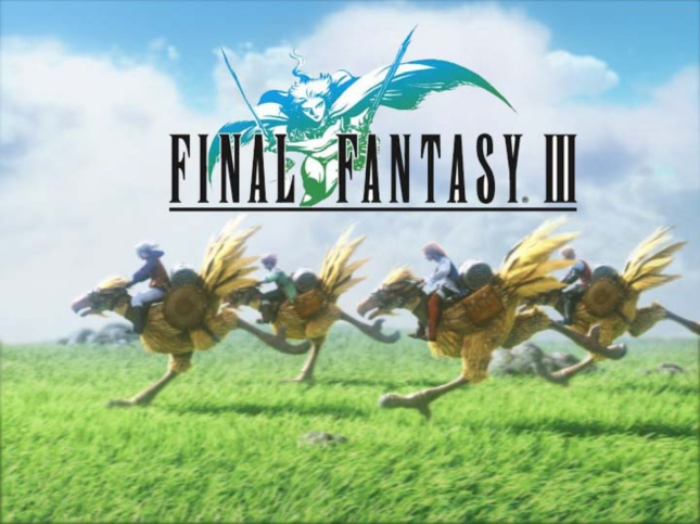 Final Fantasy III Chocobo Wallpaper