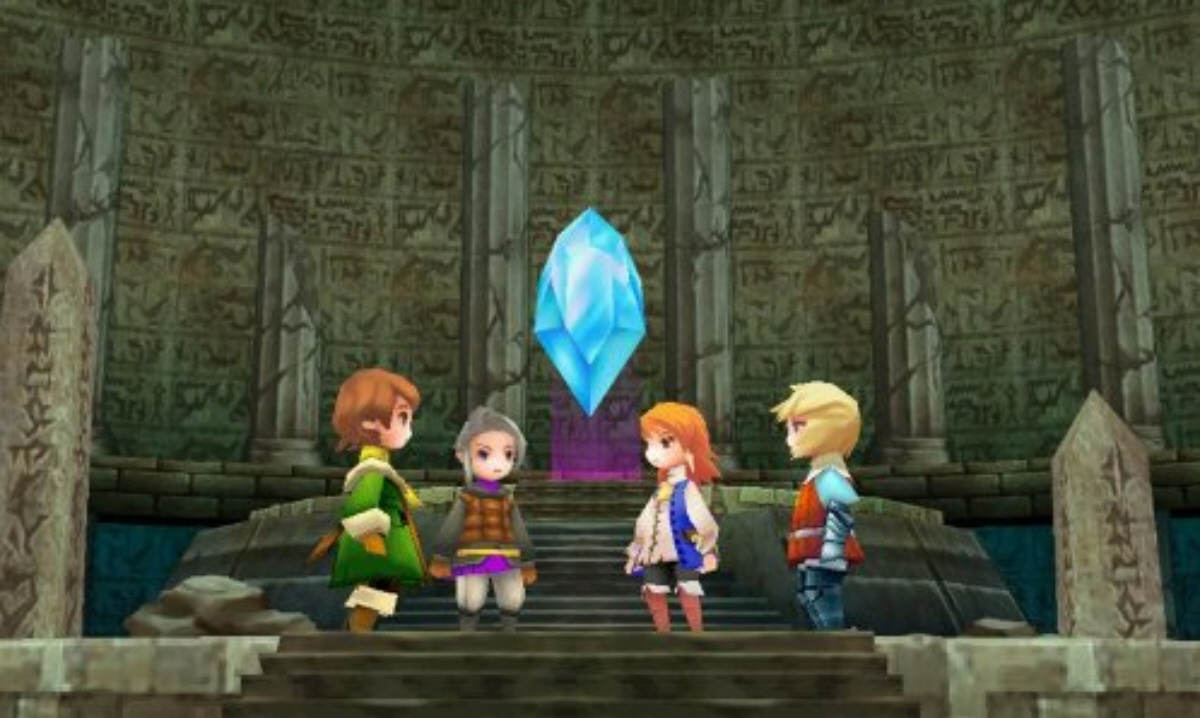 Final Fantasy III DS Remake Out Now For Kindle Fire, PSP PlayStation