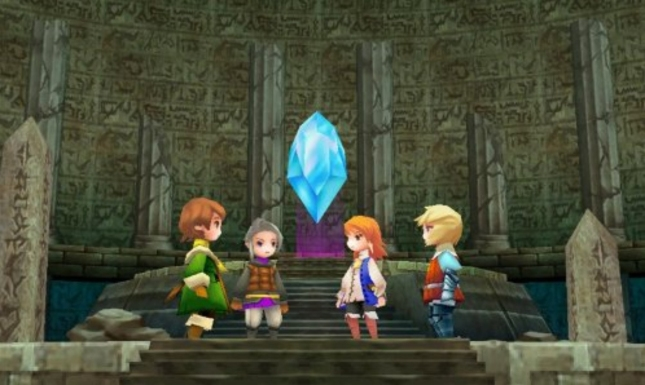 Final Fantasy III Kindle Fire DS Port Crystal Screenshots