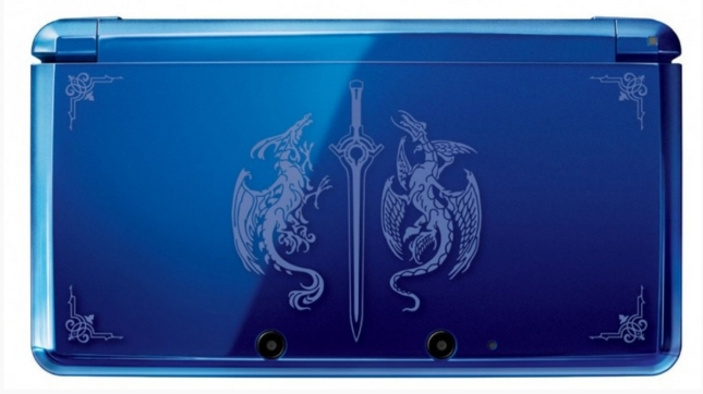 Fire Emblem Awakening Blue Embossed Logo 3DS Special Edition System