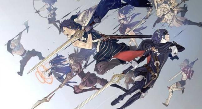Fire Emblem Awakening Characters Artwork