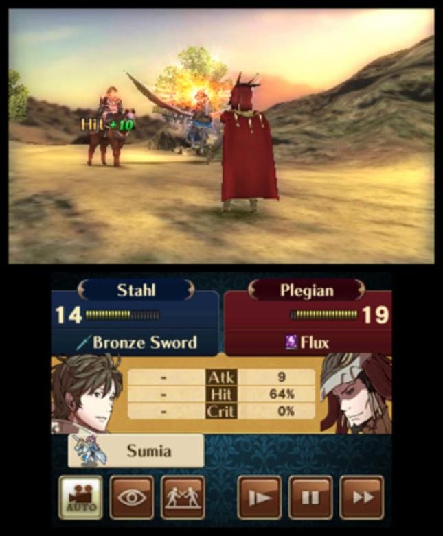 Fire Emblem: Awakening Characters Gameplay Screenshot