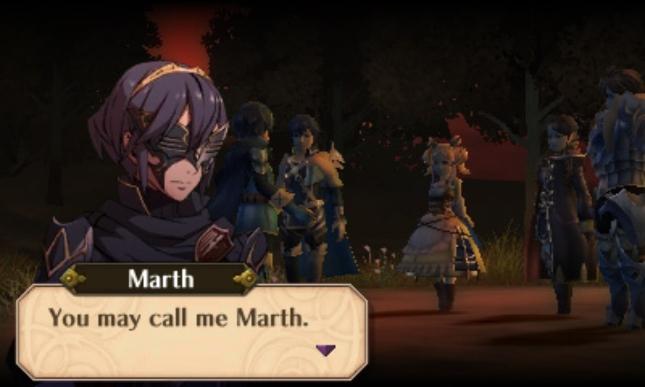 Fire Emblem: Awakening Marth Screenshot