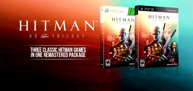 Hitman HD Trilogy Box Artwork