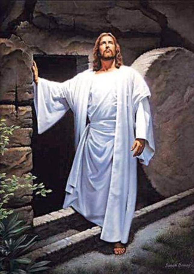 Jesus Leaves His Tomb Artwork