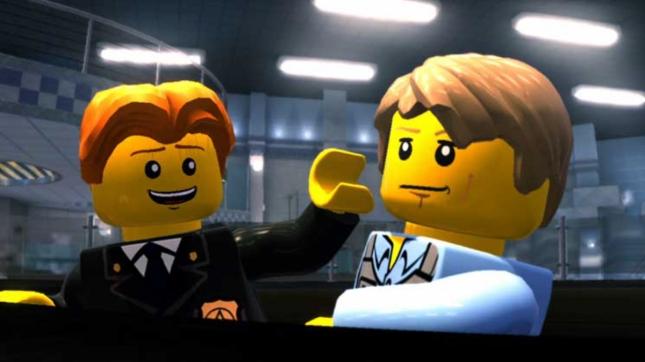 Lego City Undercover Main Character Chase McCain Cutscene Screenshot