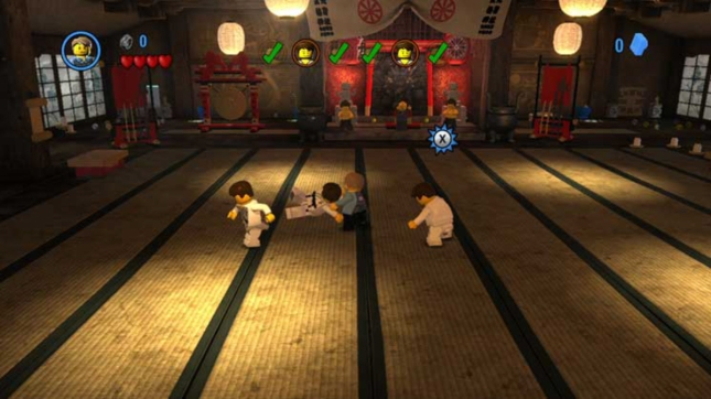 Lego City Undercover Fighting Gameplay Screenshot