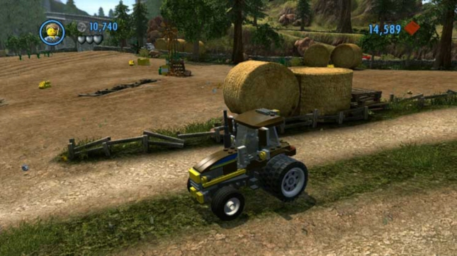 Lego City Undercover Tractor Farm Gameplay Screenshot