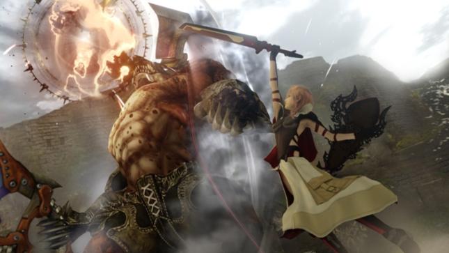Lightning Returns Boss Fight Final Fantasy XIII Gameplay Screenshot