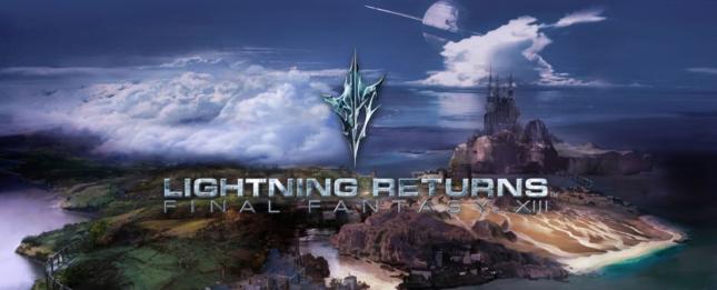 Lightning Returns Final Fantasy XIII Banner Artwork
