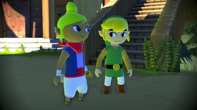 Link Tetra Wii U Zelda Wind Waker Remake Screenshot in HD