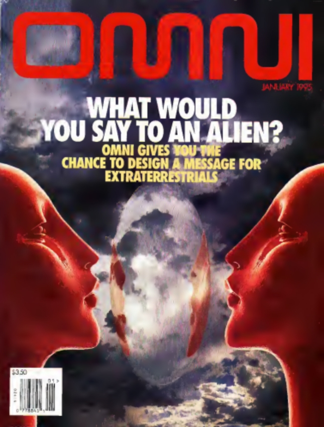 Omni What Would you Say To An Alien Cover Artwork
