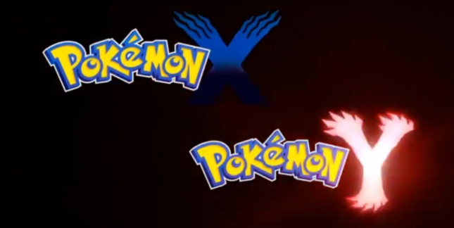 Pokemon Y and X Logos