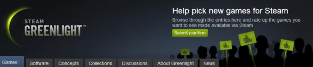 Steam Greenlight Banner