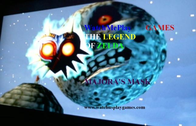 WatchMePlayGames Zelda: Majora's Mask WatchUsPlayGames Title Card