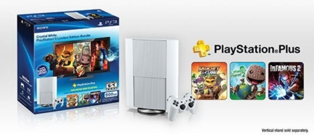 White PlayStation 3 Bundle Box Art