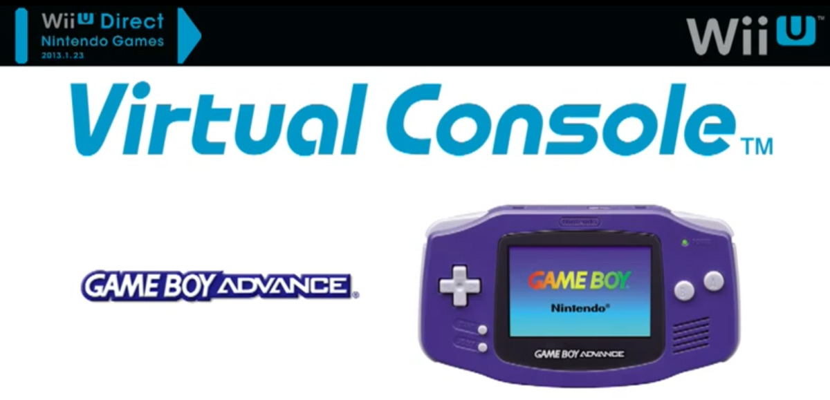 8a4a2643a33 WiiU Virtual Console Game Boy Advance Games Announced. Coming Soon