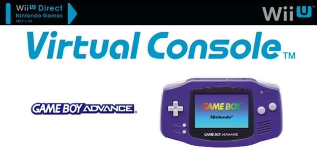 WiiU Virtual Console Game Boy Advance Games Announced. Coming Soon
