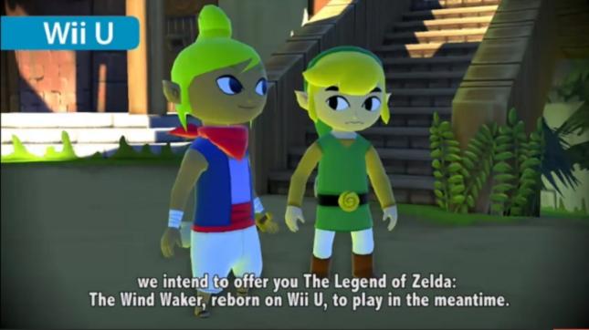 Zelda Wind Waker HD Remake WiiU Gameplay Screenshot