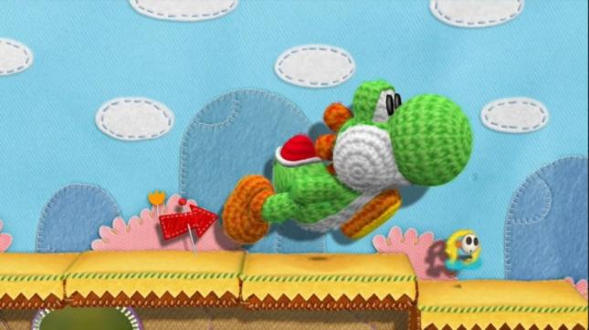 Yoshi's Epic Yarn Yoshi's Island Wii U Gameplay Screenshot. Yoshi's Story Anyone