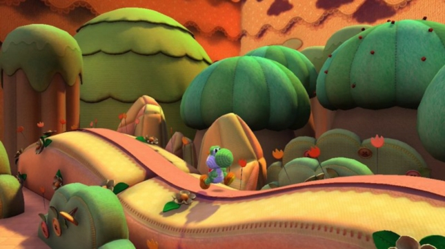 Yoshi's Land Wii U Screenshot Awesome Art Style