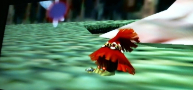 Legend of Zelda: Majora's Mask Skull Kid Plays With Tael Fairy Screenshot