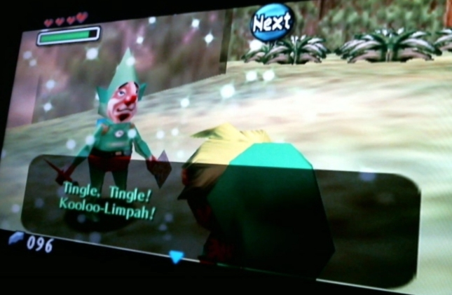 Legend of Zelda: Majora's Mask Tingle Tingle Kooloo Limpah Screenshot Creepy