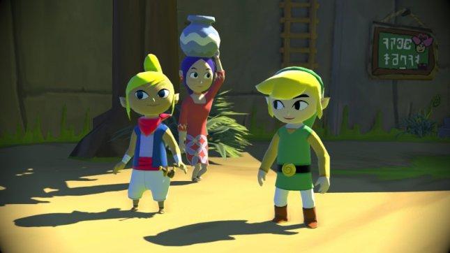 Zelda: Wind Waker Wii U Remake Characters Screenshot