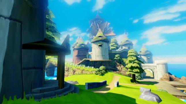 Zelda Wind Waker Wii U Remake Outset Isle Screenshot