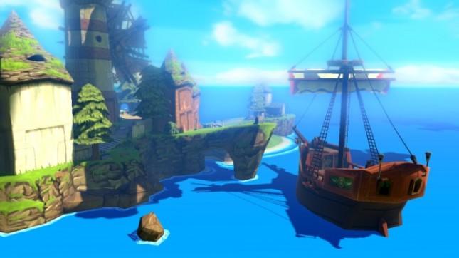 Zelda: Wind Waker Wii U Remake Pirate Ship Screenshot