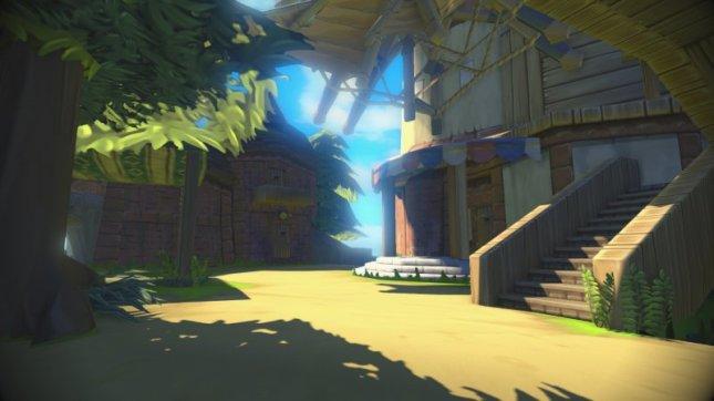 Zelda: Wind Waker Wii U Remake Village Shops Screenshot